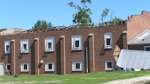 Elmwood Community Center after Tornado